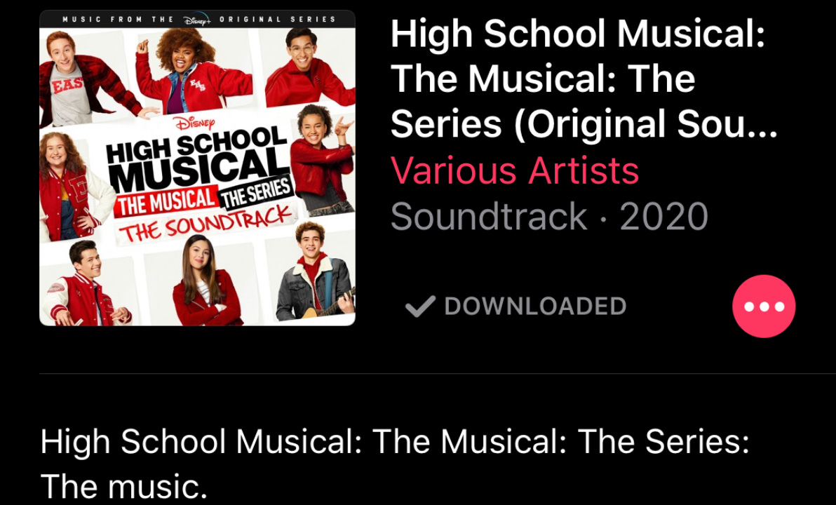 High School Musical The Soundtrack