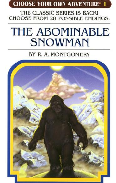 The Abominable Snowman by R. A. Montgomery