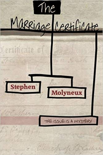 The Marriage Certificate by Stephen Molyneux