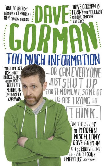 Too Much Information by Dave Gorman
