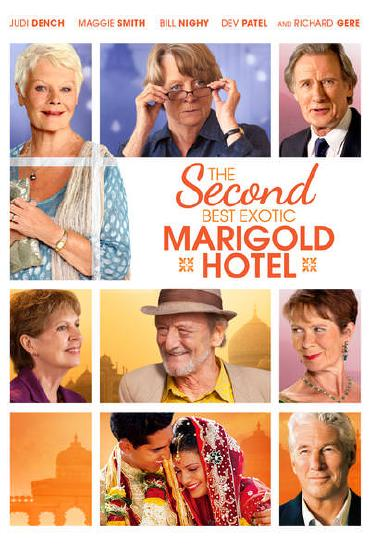 TThe Second Best Exotic Marigold Hotel